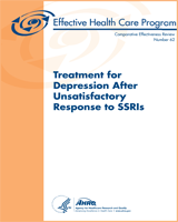 Cover of Treatment for Depression After Unsatisfactory Response to SSRIs