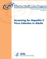 Cover of Screening for Hepatitis C Virus Infection in Adults
