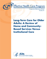 Cover of Long-Term Care for Older Adults