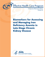Cover of Biomarkers for Assessing and Managing Iron Deficiency Anemia in Late-Stage Chronic Kidney Disease