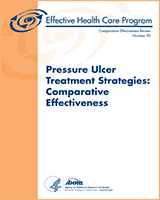 Cover of Pressure Ulcer Treatment Strategies: Comparative Effectiveness