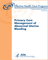 Cover of Primary Care Management of Abnormal Uterine Bleeding