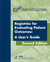 Cover of Registries for Evaluating Patient Outcomes: A User's Guide