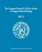 Cover of The Surgeon General's Call to Action to Support Breastfeeding