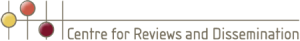 Logo of Centre for Reviews and Dissemination (UK)