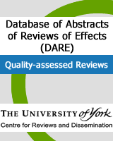 Cover of Database of Abstracts of Reviews of Effects (DARE): Quality-assessed Reviews