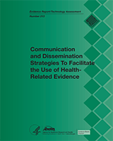 Cover of Communication and Dissemination Strategies to Facilitate the Use of Health-Related Evidence