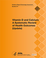 Cover of Vitamin D and Calcium: A Systematic Review of Health Outcomes (Update)
