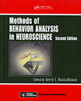 Cover of Methods of Behavior Analysis in Neuroscience