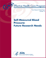 Cover of Self-Measured Blood Pressure: Future Research Needs