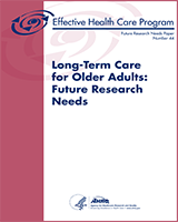 Cover of Long-Term Care for Older Adults: Future Research Needs