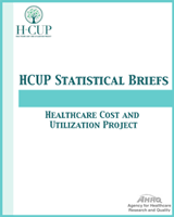 Cover of Healthcare Cost and Utilization Project (HCUP) Statistical Briefs