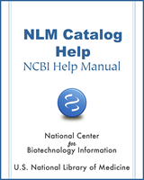 Cover of NLM Catalog Help