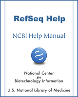 Cover of RefSeq Help