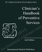 Cover of Clinician's Handbook of Preventive Services