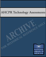 Cover of AHCPR Health Technology Assessments