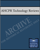 Cover of AHCPR Health Technology Reviews
