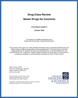 Cover of Drug Class Review: Newer Drugs for Insomnia