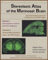 Cover of Stereotaxic Atlas of the Marmoset Brain