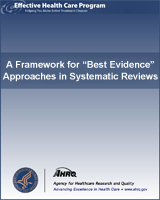 "Cover of A Framework for ""Best Evidence"" Approaches in Systematic Reviews"