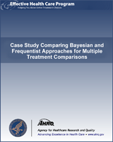 Cover of Case Study Comparing Bayesian and Frequentist Approaches for Multiple Treatment Comparisons
