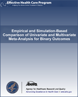 Cover of Empirical and Simulation-Based Comparison of Univariate and Multivariate Meta-Analysis for Binary Outcomes