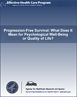 Cover of Progression-Free Survival: What Does It Mean for Psychological Well-Being or Quality of Life?