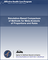 Cover of Simulation-Based Comparison of Methods for Meta-Analysis of Proportions and Rates