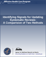 Cover of Identifying Signals for Updating Systematic Reviews