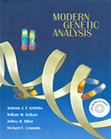 Cover of Modern Genetic Analysis
