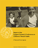 Cover of Report of the Surgeon General's Conference on Children's Mental Health