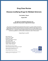Cover of Drug Class Review: Disease-modifying Drugs for Multiple Sclerosis