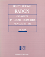 Cover of Health Risks of Radon and Other Internally Deposited Alpha-Emitters