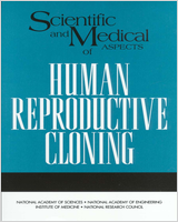 Cover of Scientific and Medical Aspects of Human Reproductive Cloning