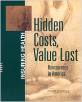 Cover of Hidden Costs, Values Lost