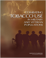 Cover of Combating Tobacco Use in Military and Veteran Populations