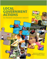 Cover of Local Government Actions to Prevent Childhood Obesity