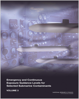 Cover of Emergency and Continuous Exposure Guidance Levels for Selected Submarine Contaminants