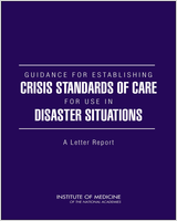 Cover of Guidance for Establishing Crisis Standards of Care for Use in Disaster Situations