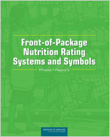Cover of Front-of-Package Nutrition Rating Systems and Symbols