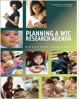 Cover of Planning a WIC Research Agenda