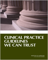 Cover of Clinical Practice Guidelines We Can Trust