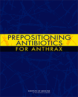 Cover of Prepositioning Antibiotics for Anthrax