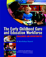 Cover of The Early Childhood Care and Education Workforce