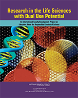 Cover of Research in the Life Sciences with Dual Use Potential