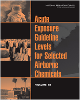 Cover of Acute Exposure Guideline Levels for Selected Airborne Chemicals