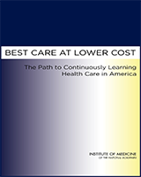 Cover of Best Care at Lower Cost