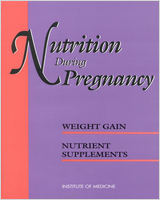 Cover of Nutrition During Pregnancy