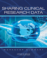 Cover of Sharing Clinical Research Data