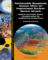 Cover of Nationwide Response Issues After an Improvised Nuclear Device Attack